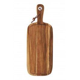 Prkénko z akátového dřeva, hnědá barva, dřevo