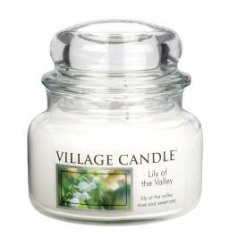 Svíčka ve skle Lily of the Valley - malá, čirá barva, sklo