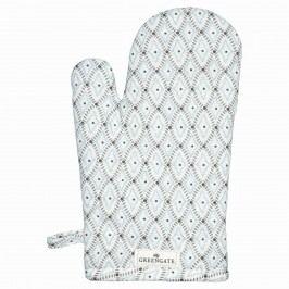 Grilovací rukavice Elsa sand, šedá barva, textil