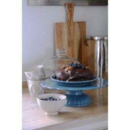 Dortový stojan Mynte Cornflower, modrá barva, keramika