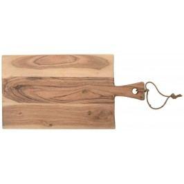Dřevěné prkénko Acacia 48 cm, hnědá barva, dřevo