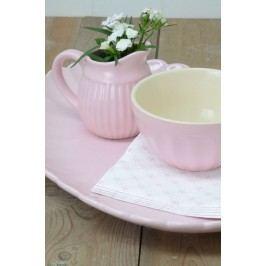 Džbánek na smetanu Mynte rose, růžová barva, keramika