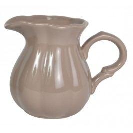 Džbánek Mynte milky brown - menší, hnědá barva, keramika