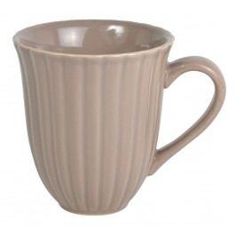 Hrnek Mynte Milky Brown, hnědá barva, keramika