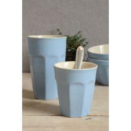 Latte hrneček Mynte nordic sky 250 ml, modrá barva, keramika