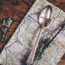 Postříbřená čajová lžička Jdi za svým snem, stříbrná barva, kov