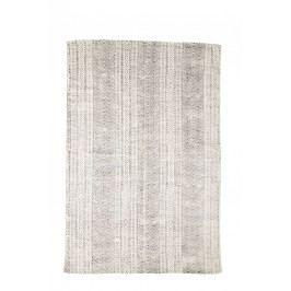 Ručně tkaný bavlněný koberec Orient 120x180 cm, šedá barva, bílá barva, textil