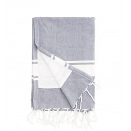 Osuška Blue 90x180 cm, modrá barva, textil