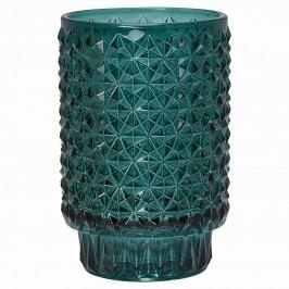 Svícen Nova green, zelená barva, sklo