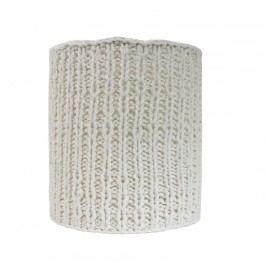 Cylindr Knitted white, bílá barva, textil