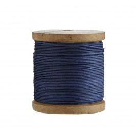 Bavlněný provázek Blue, modrá barva, textil