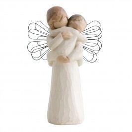 Andělské objetí, béžová barva