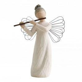 Anděl harmonie, bílá barva