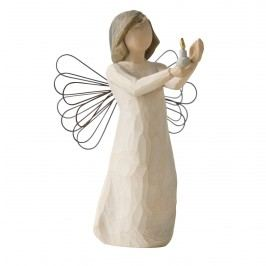 Anděl naděje, béžová barva