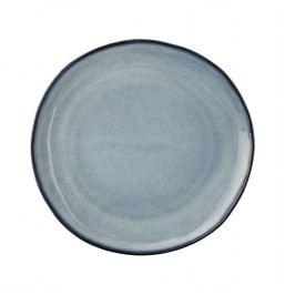 Dezertní talíř Sandrine Blue, modrá barva, keramika