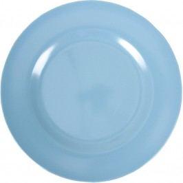 Melaminový talíř 25 cm - modrý, modrá barva, melamin