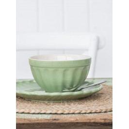 Miska na müsli Mynte Meadow green, zelená barva, keramika