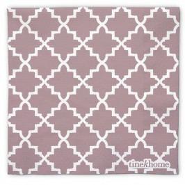 Papírové ubrousky Marocco Fig, červená barva, bílá barva, papír