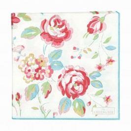 Papírové ubrousky Amanda white, multi barva, papír