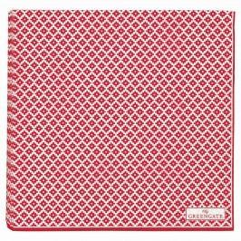 Papírové ubrousky Judy red - 20 ks, červená barva, papír