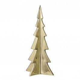 Dekorativní porcelánový stromek Gold Porcelain, zlatá barva, porcelán