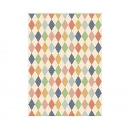 Dárkový balící papír Harlekin multi, multi barva, papír