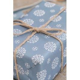 Balicí papír Circle blue - 10m, modrá barva, papír