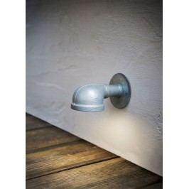Garden Trading Venkovní osvětlení cesty St Ives, stříbrná barva, kov