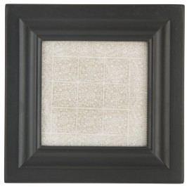 Dřevěný rámeček Mix-It Black (foto 9x9 cm), černá barva, dřevo