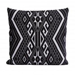Povlak na polštář Andy 50x50 cm, černá barva, textil