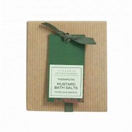 Léčivá hořčičná koupelová sůl, zelená barva
