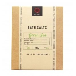 Koupelová sůl Green Tea 150gr, béžová barva