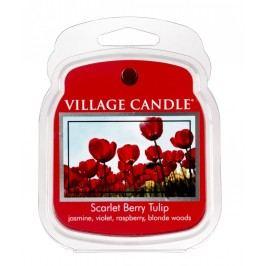 Vosk do aromalampy Scarlet berry tulip, červená barva, plast