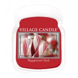 Vosk do aromalampy Peppermint Stick, červená barva, vosk
