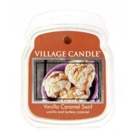 Vosk do aromalampy Vanilla Caramel Swirl, oranžová barva, béžová barva, hnědá barva, vosk