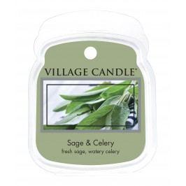 Vosk do aromalampy Sage & Celery, zelená barva, vosk