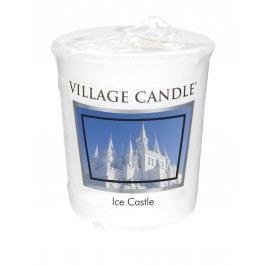 Votivní svíčka Village Candle - Ice Castle, bílá barva, vosk
