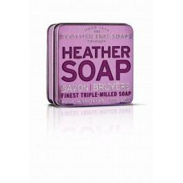 Dárkové mýdlo v plechovce - vřes, fialová barva