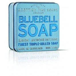 Dárkové mýdlo v plechovce - hyacint, modrá barva
