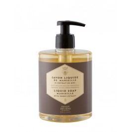 Tekuté mýdlo s mateří kašičkou - med, zelená barva, zlatá barva, plast