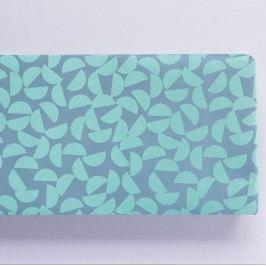 ola Balicí papír Turquoise Maze - 50 x 70 cm, modrá barva, zelená barva, papír