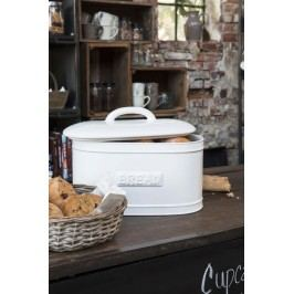 Porcelánový box Bread Pure white, bílá barva, keramika