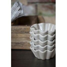 Keramická forma na muffiny Mynte French Grey, šedá barva, keramika
