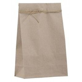Papírový sáček Kraft - větší, béžová barva, papír