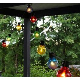 Světelný LED řetěz Colour - 16 žárovek, multi barva, plast