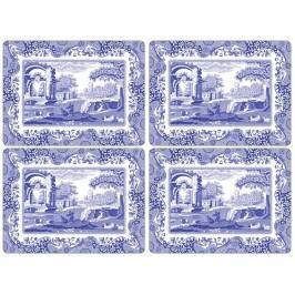pimpernel Prostírání Blue Italian - 4 ks, modrá barva