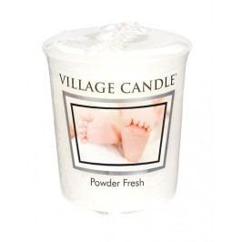 Votivní svíčka Village Candle - Powder Fresh, bílá barva