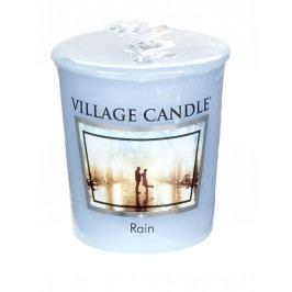 Votivní svíčka Village Candle - Rain, modrá barva, vosk