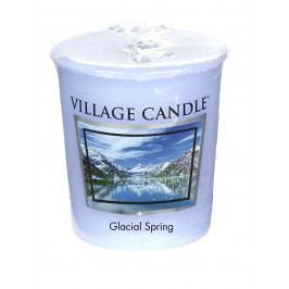 Votivní svíčka Village Candle - Glacial Spring, modrá barva, vosk