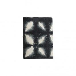 Zápisník Phantom, černá barva, papír